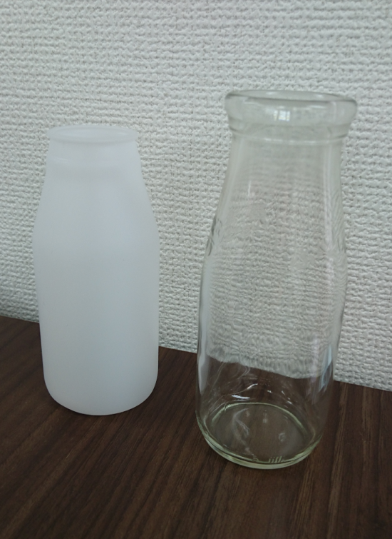 1ガラスと壜の選定について